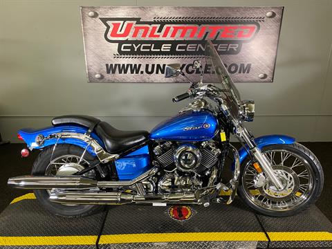 2009 Yamaha V Star 650 Custom in Tyrone, Pennsylvania - Photo 1