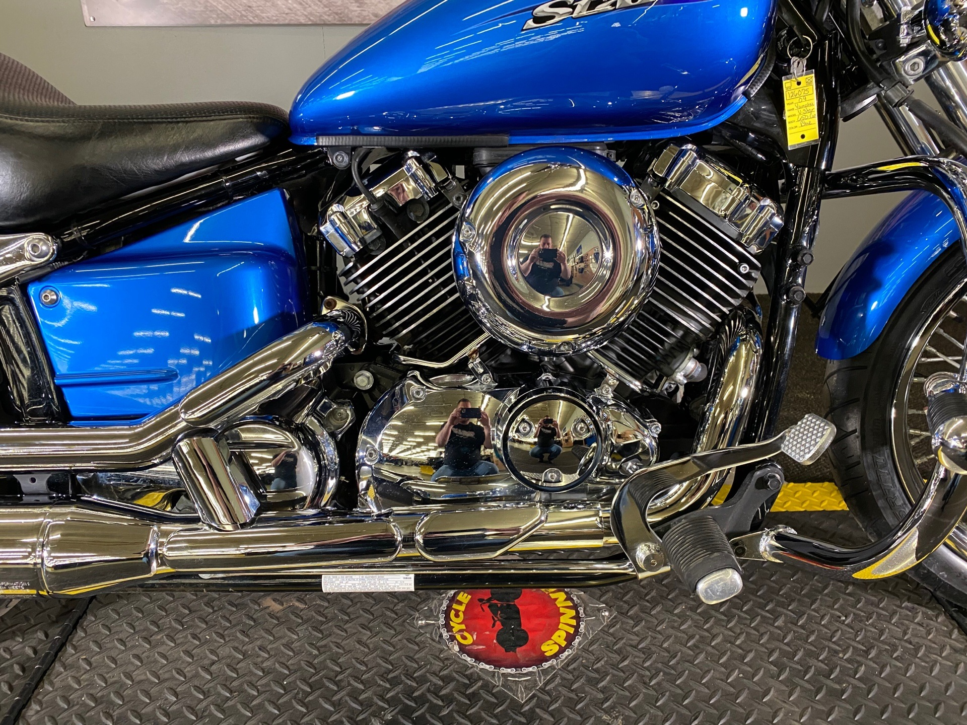 2009 Yamaha V Star 650 Custom in Tyrone, Pennsylvania - Photo 2