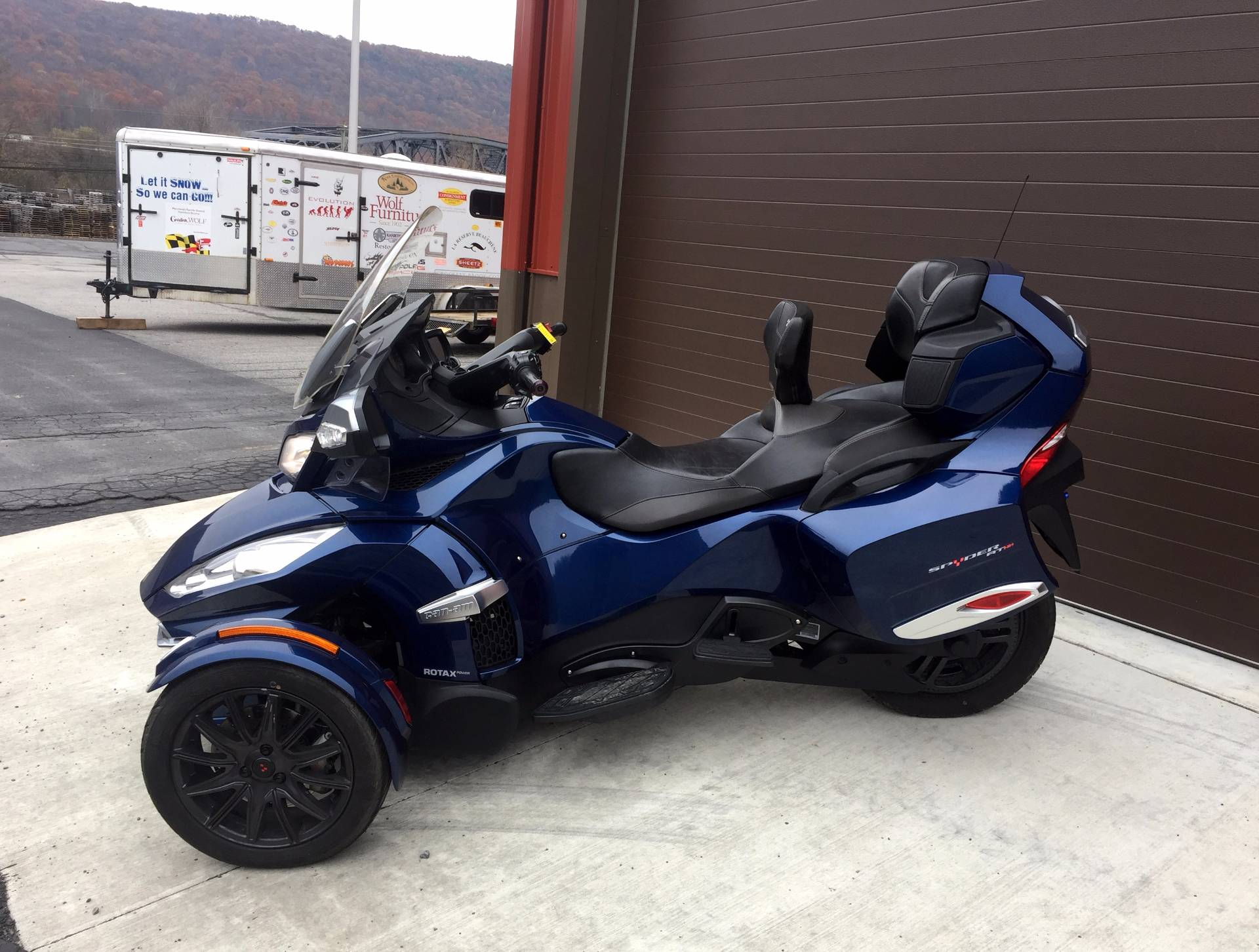 2016 Can-Am Spyder RT-S SE6 in Tyrone, Pennsylvania