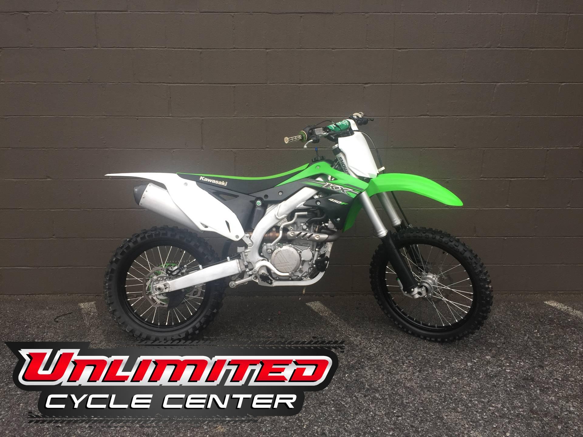 2015 Kawasaki KX™450F Motorcycles Tyrone Pennsylvania