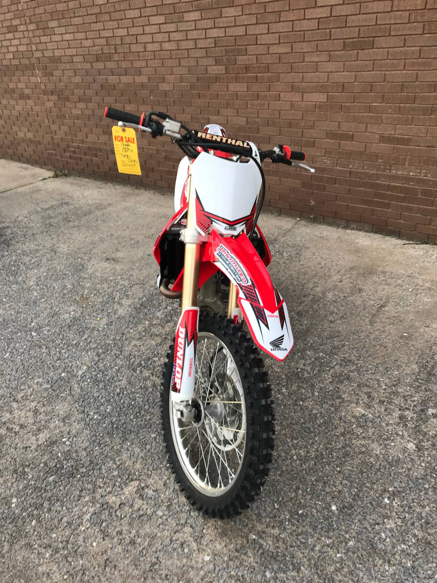2016 Honda CRF450R in Tyrone, Pennsylvania - Photo 8