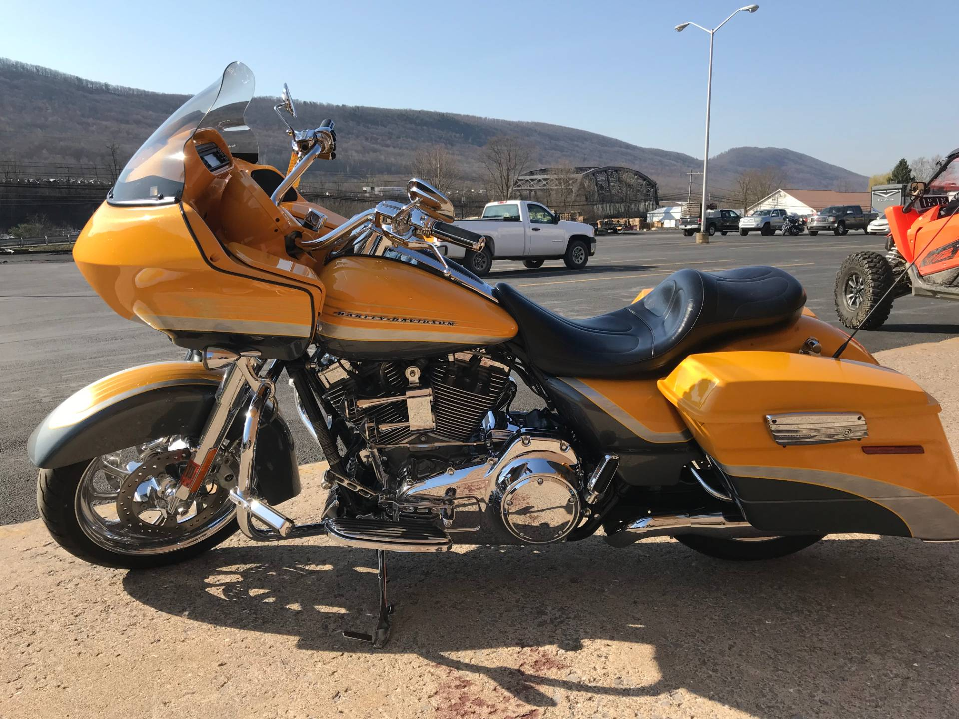 2009 Harley-Davidson CVO™ Road Glide® in Tyrone, Pennsylvania