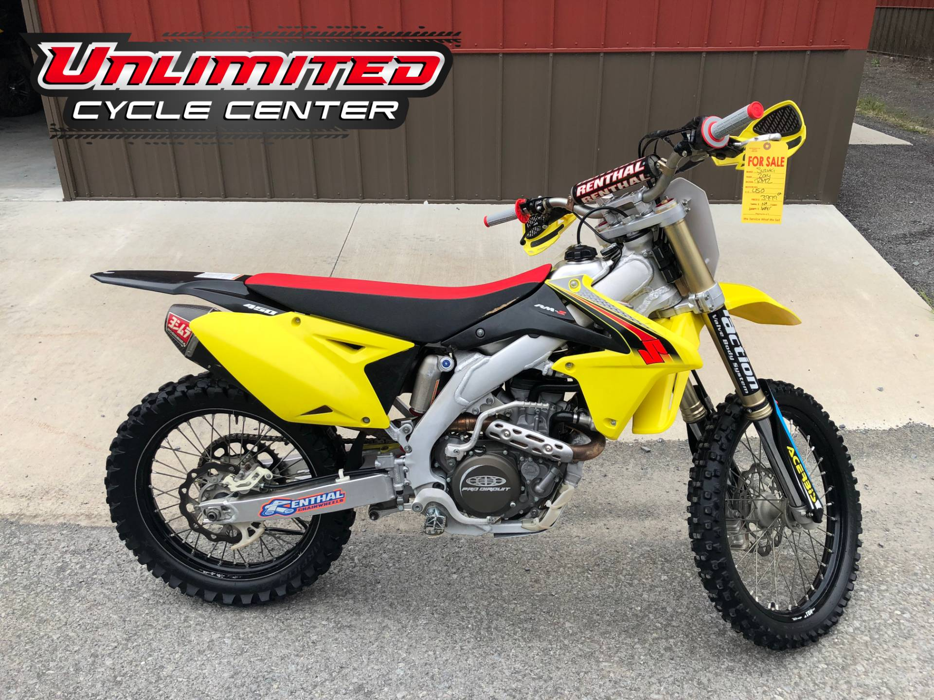 2014 Suzuki RM-Z450 in Tyrone, Pennsylvania - Photo 1
