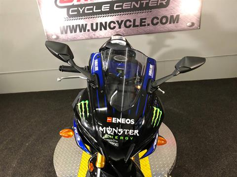 2020 Yamaha YZF-R3 ABS Monster Energy Yamaha MotoGP Edition in Tyrone, Pennsylvania - Photo 6