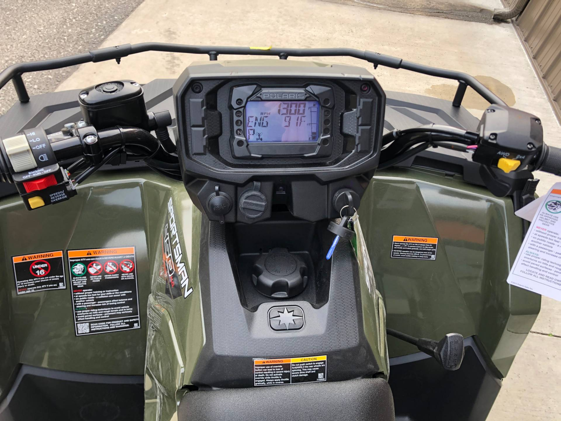 2021 Polaris Sportsman 450 H.O. in Tyrone, Pennsylvania - Photo 6