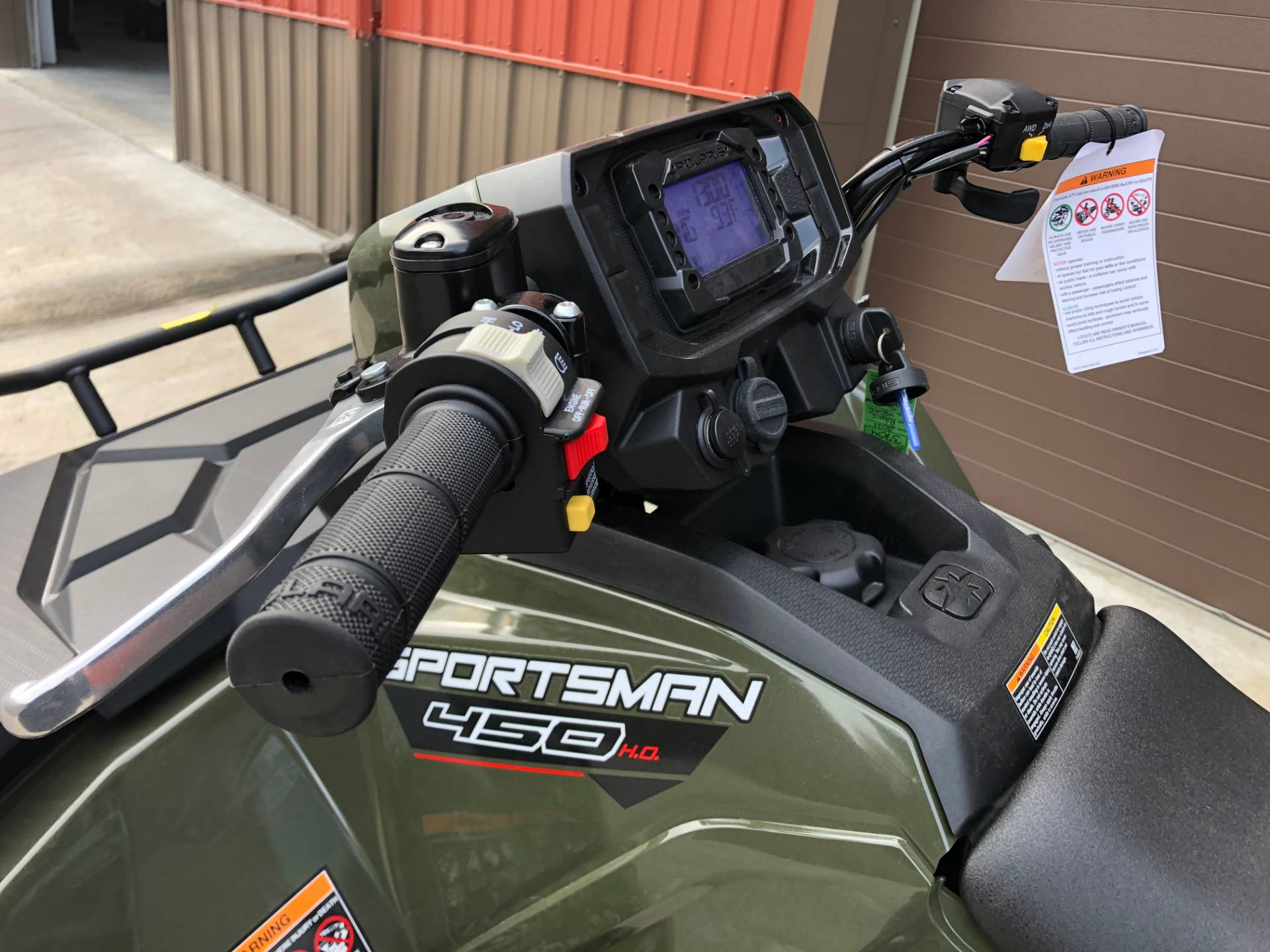 2021 Polaris Sportsman 450 H.O. in Tyrone, Pennsylvania - Photo 7
