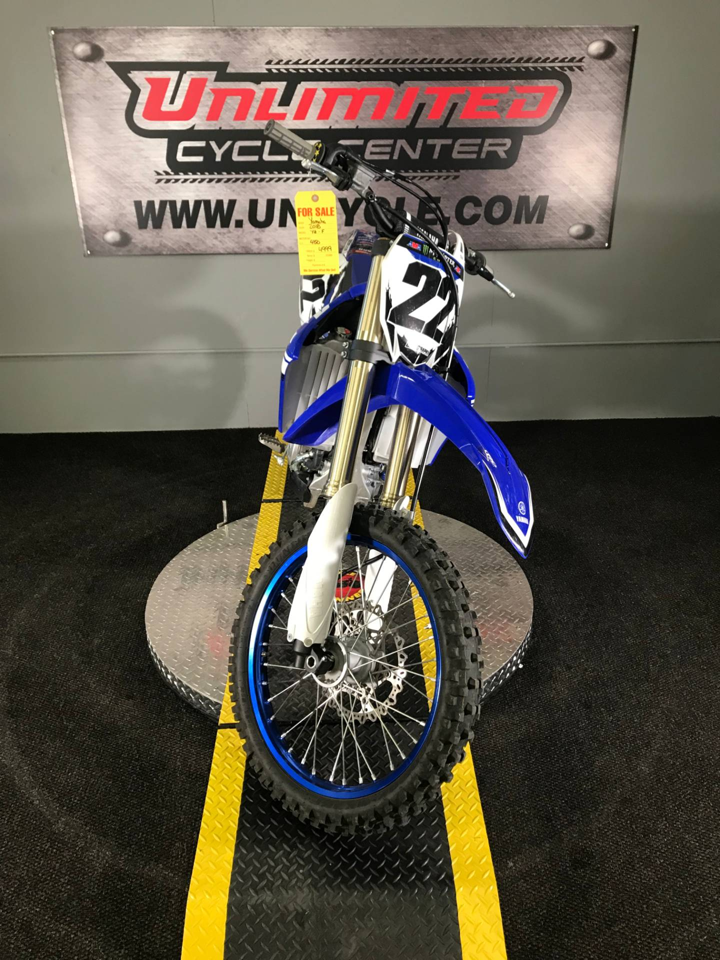 2018 Yamaha YZ450F in Tyrone, Pennsylvania - Photo 4