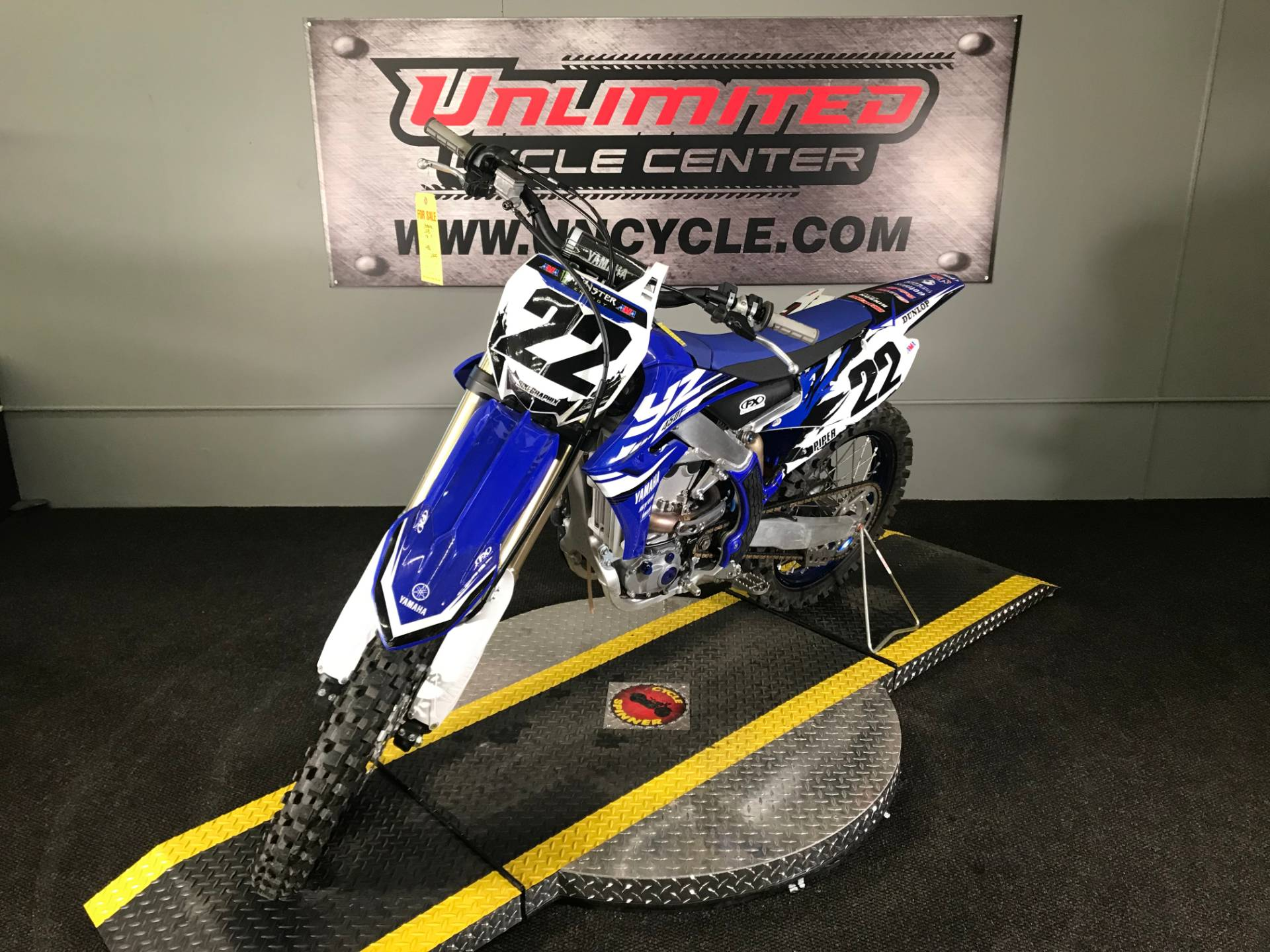 2018 Yamaha YZ450F in Tyrone, Pennsylvania - Photo 5