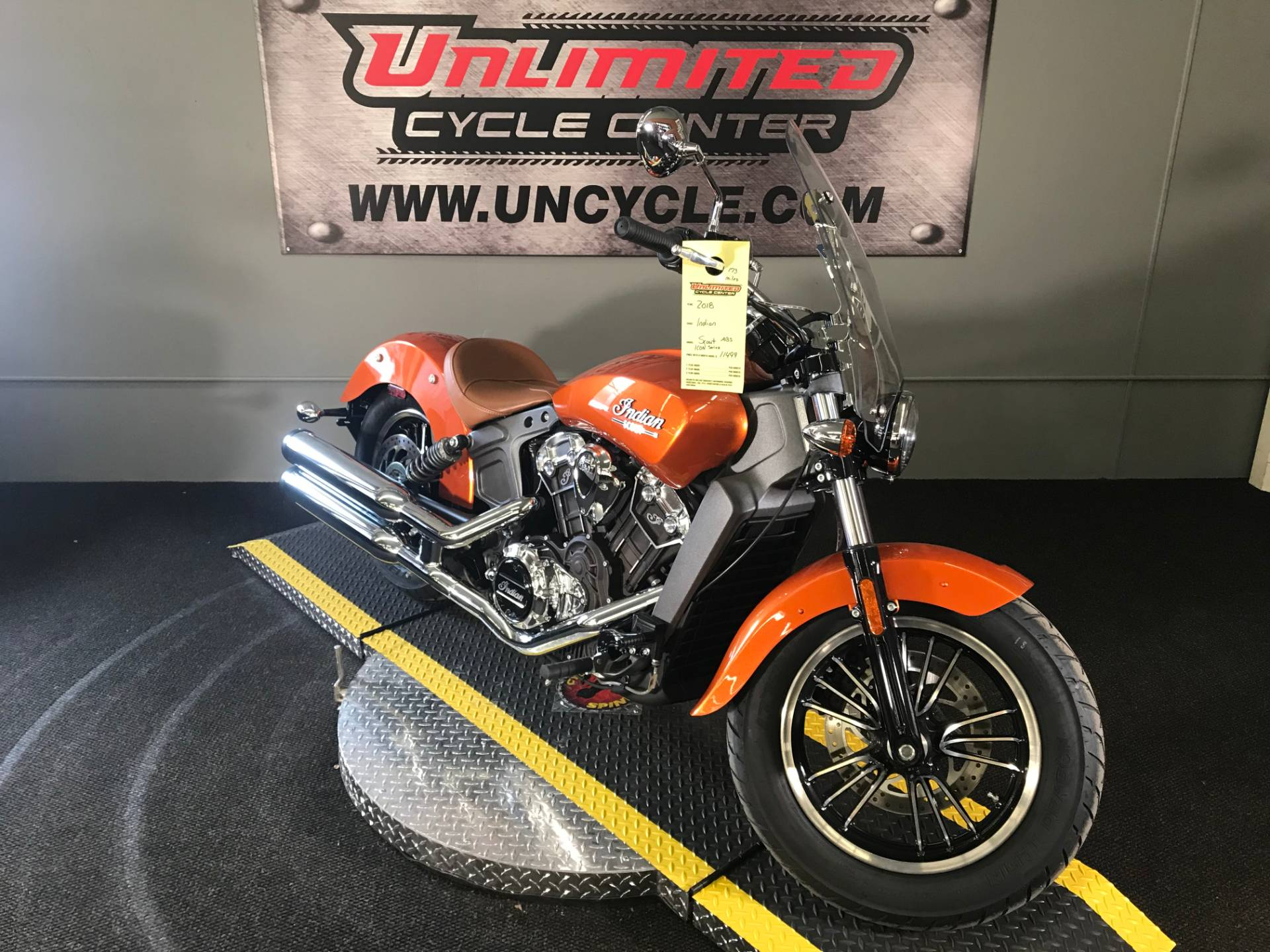 2018 Indian Scout® ABS Icon Series in Tyrone, Pennsylvania - Photo 1