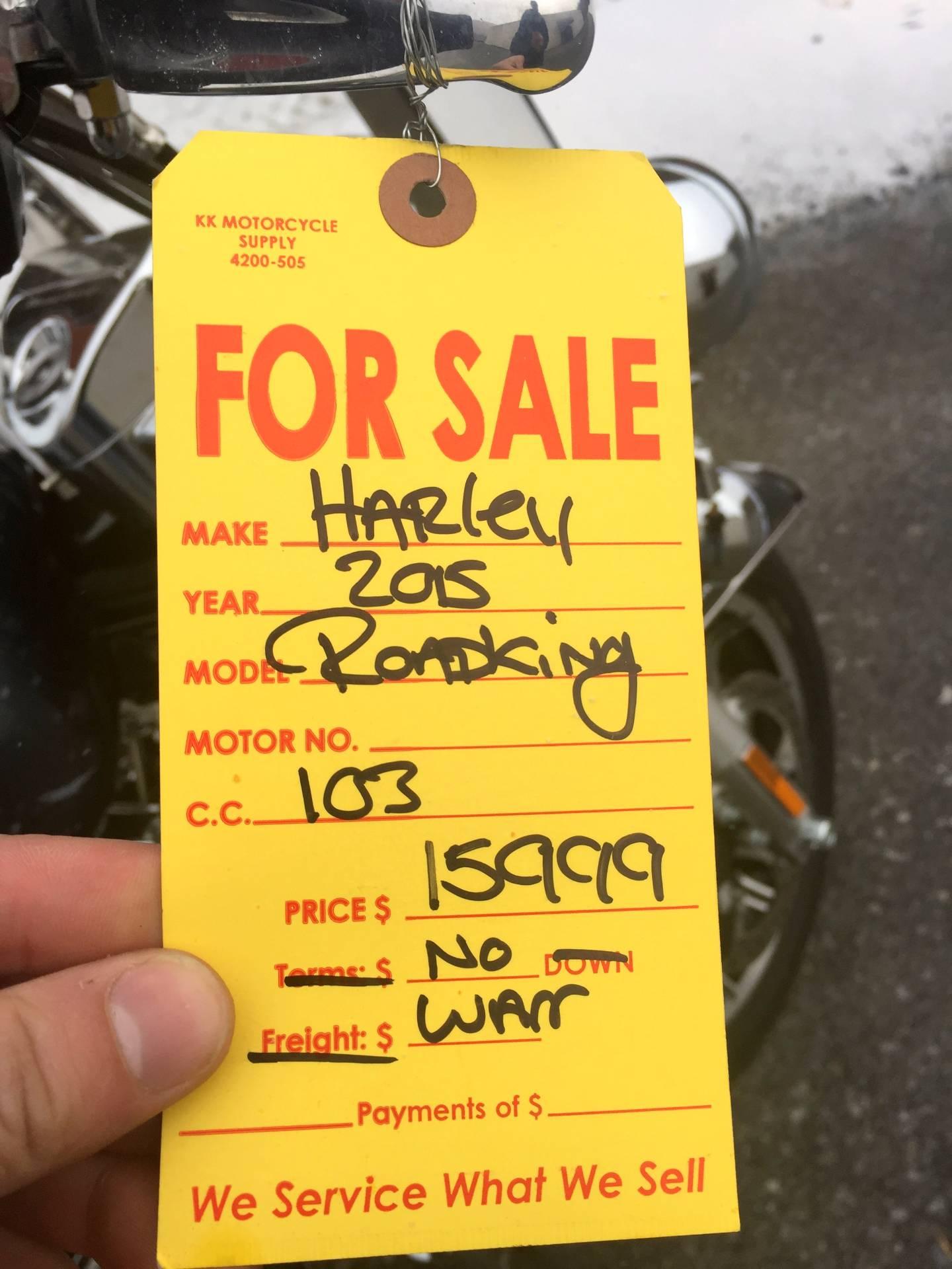 2015 Harley-Davidson Road King® in Tyrone, Pennsylvania
