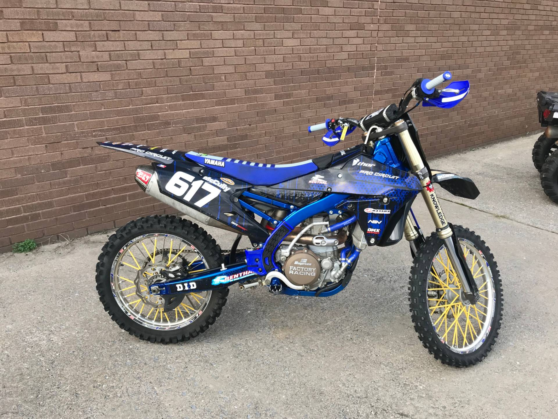 2014 Yamaha YZ450F in Tyrone, Pennsylvania - Photo 3