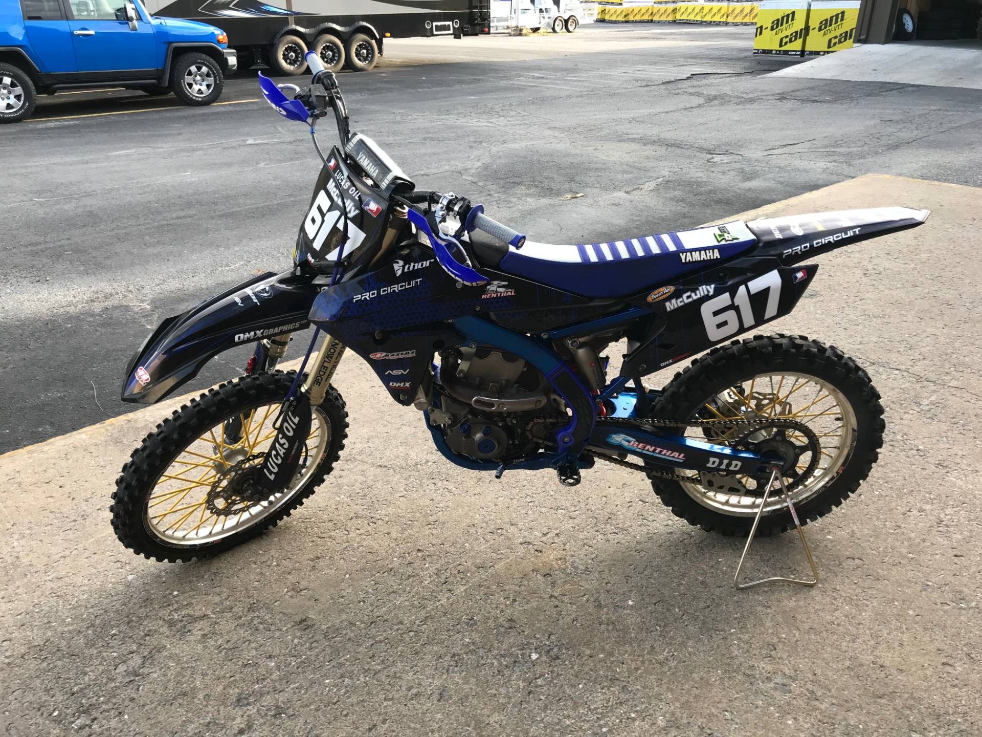2014 Yamaha YZ450F in Tyrone, Pennsylvania - Photo 7