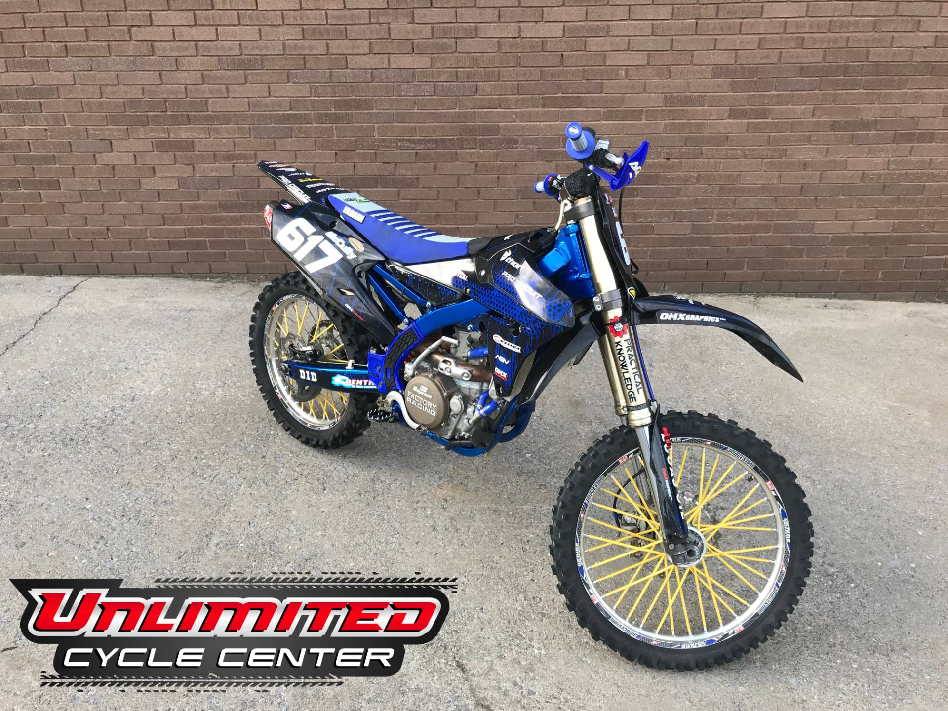 2014 Yamaha YZ450F in Tyrone, Pennsylvania - Photo 1