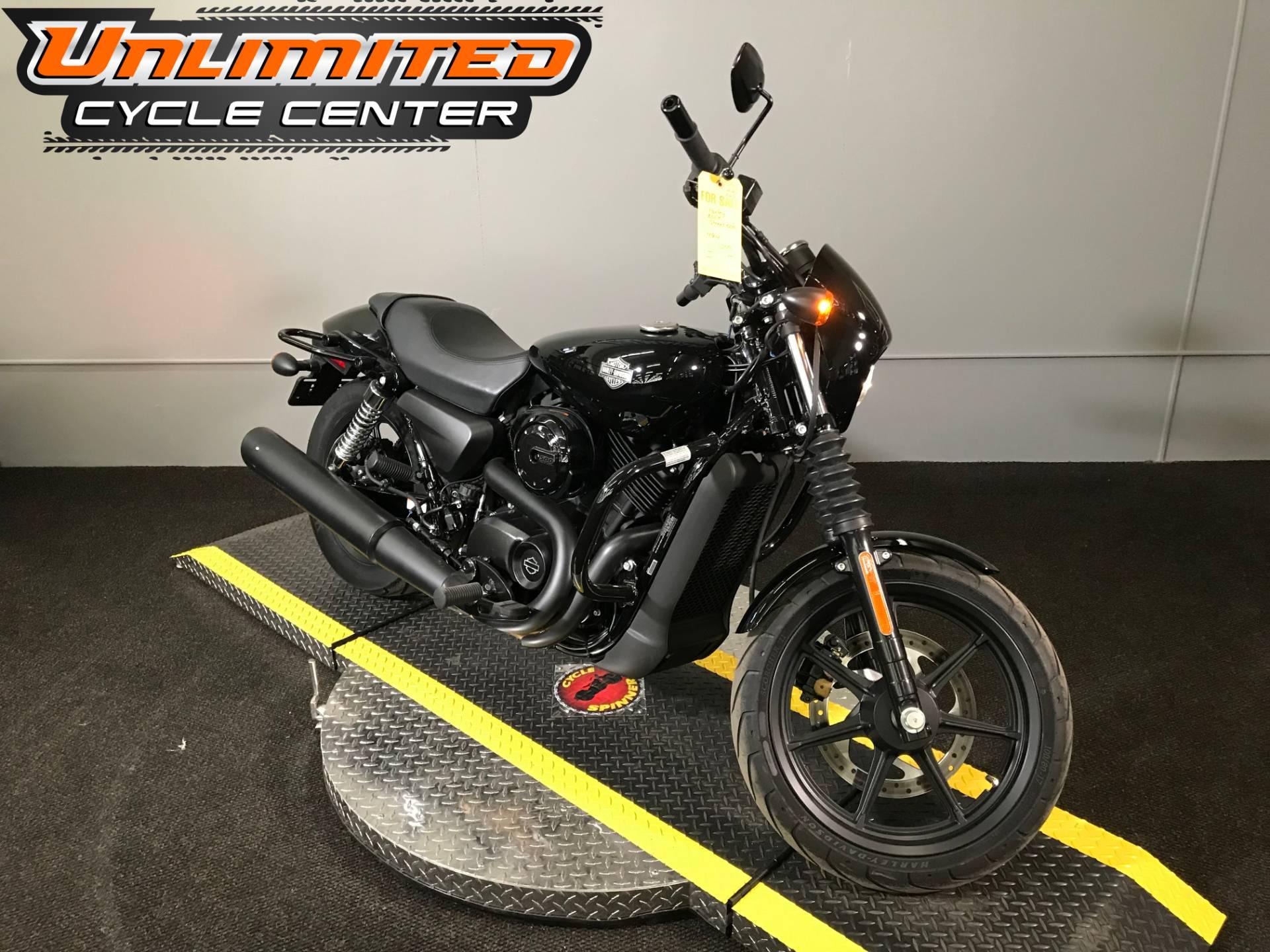2017 Harley Davidson Street 500 In Tyrone Pennsylvania Photo 1