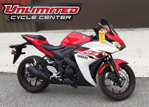 2015 Yamaha YZF-R3 in Tyrone, Pennsylvania