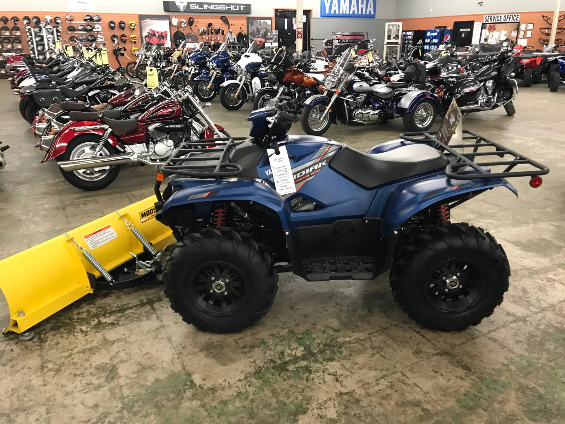 2019 Yamaha Kodiak 700 EPS SE in Tyrone, Pennsylvania - Photo 2