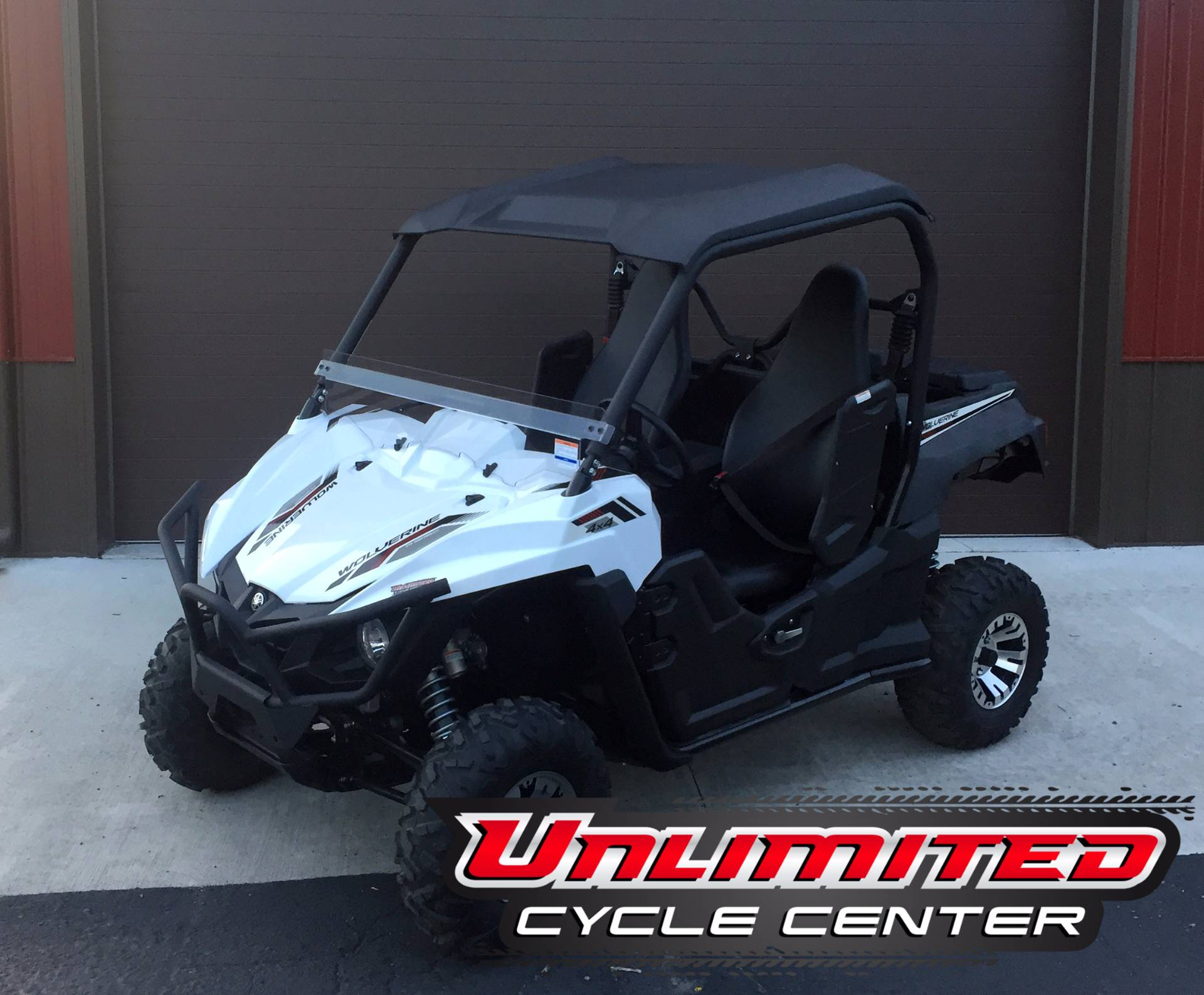 2017 Yamaha Wolverine R-Spec EPS in Tyrone, Pennsylvania