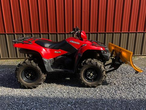 2018 Suzuki KingQuad 750AXi Power Steering in Tyrone, Pennsylvania
