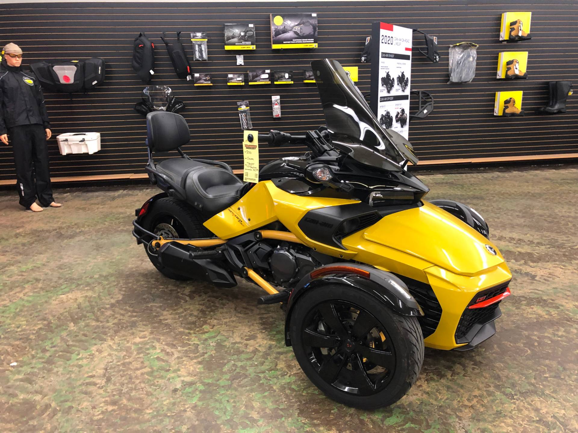 2017 Can-Am Spyder F3-S Daytona 500 SM6 in Tyrone, Pennsylvania - Photo 1