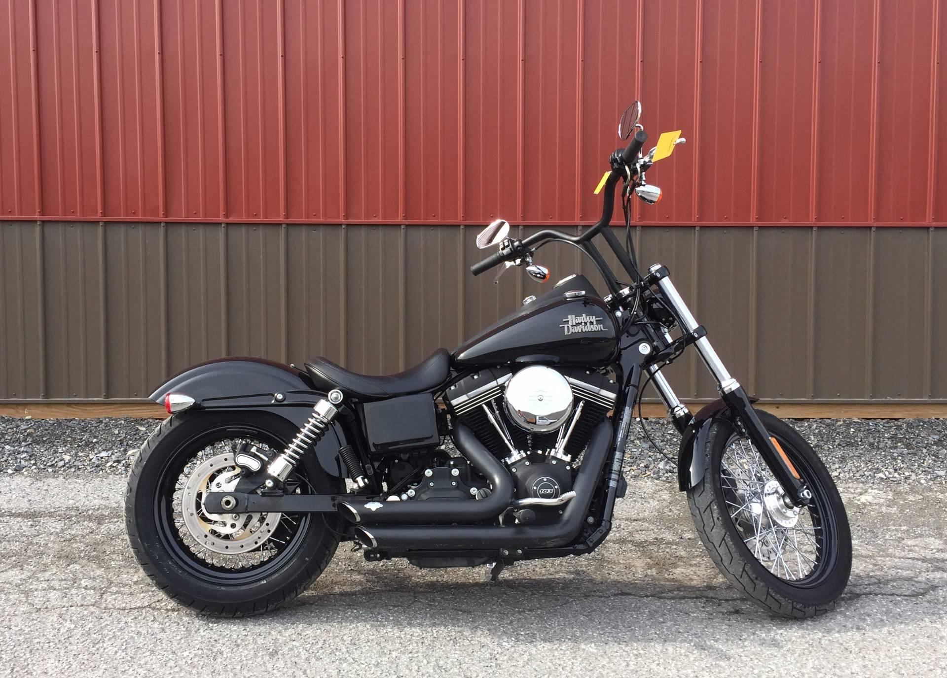 2016 Harley-Davidson Street Bob® in Tyrone, Pennsylvania