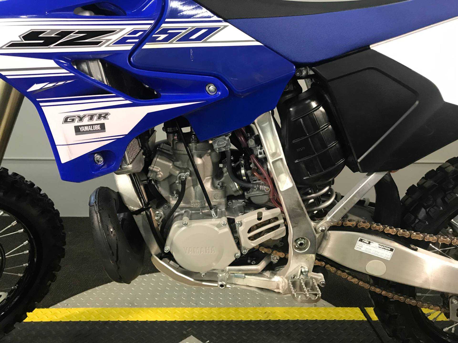 2016 Yamaha Yz250 In Tyrone Pennsylvania Photo 7