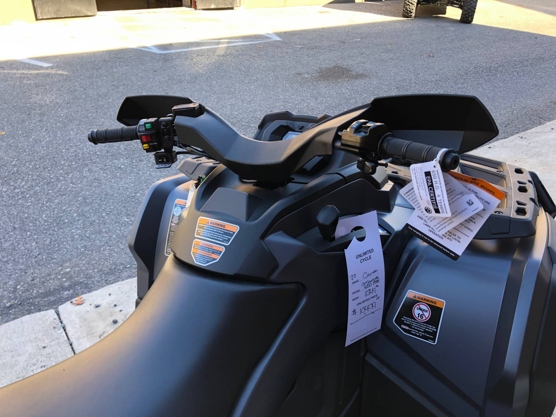 2020 Can-Am Outlander MAX XT 650 in Tyrone, Pennsylvania - Photo 8