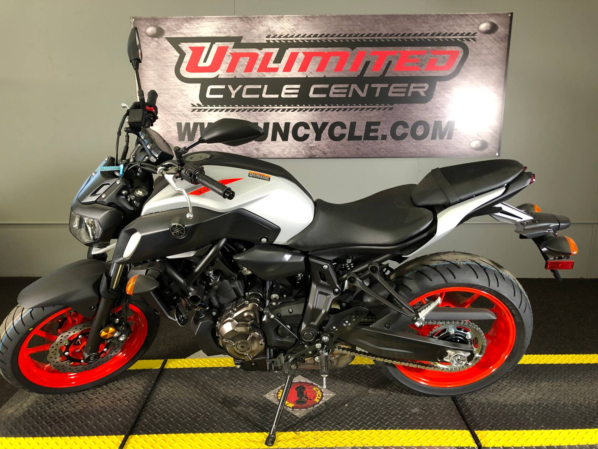 2019 Yamaha MT-07 in Tyrone, Pennsylvania - Photo 3