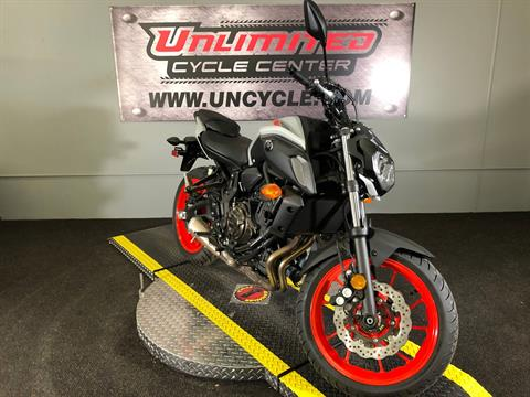 2019 Yamaha MT-07 in Tyrone, Pennsylvania - Photo 2