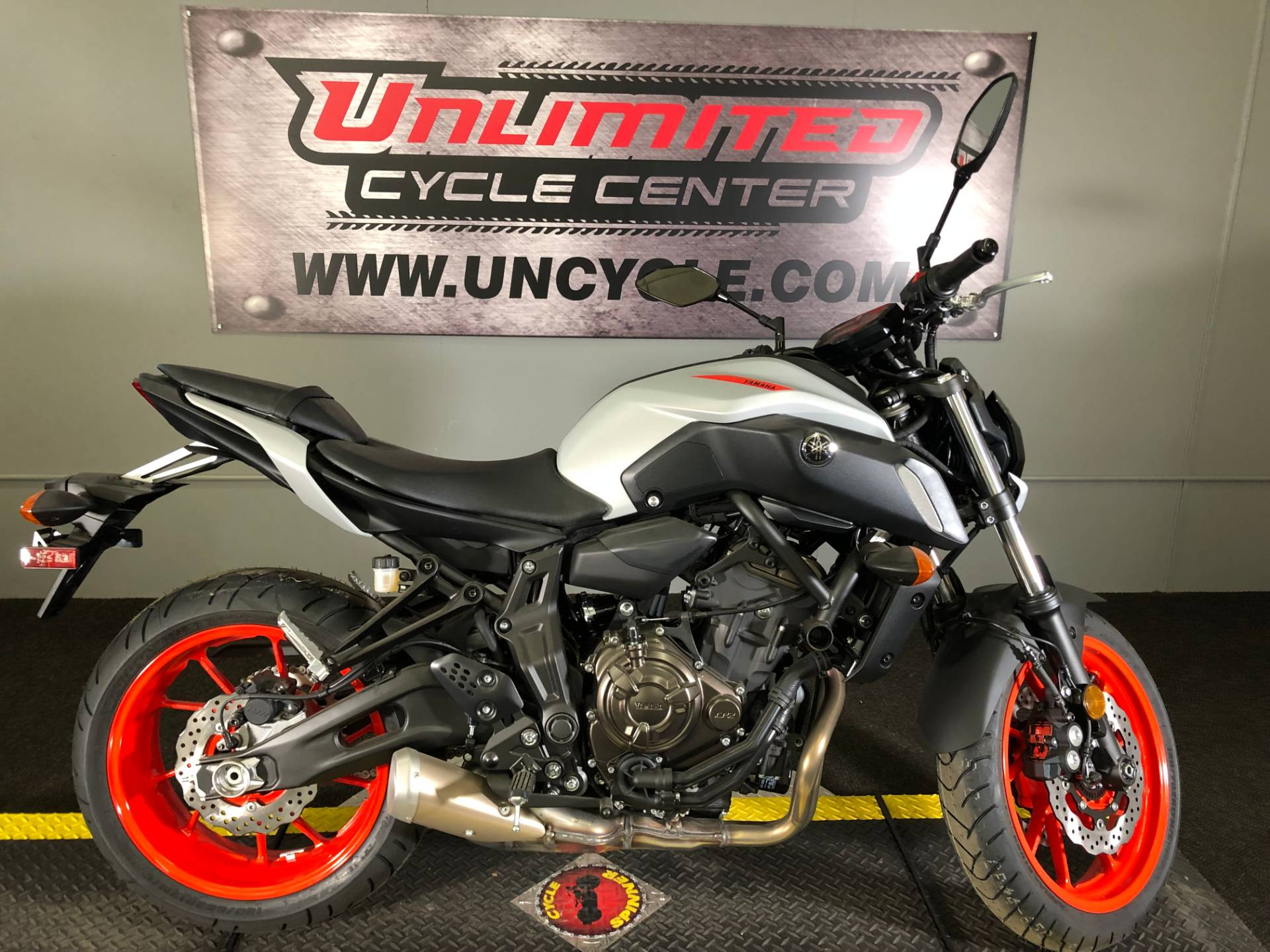 2019 Yamaha MT-07 in Tyrone, Pennsylvania - Photo 1