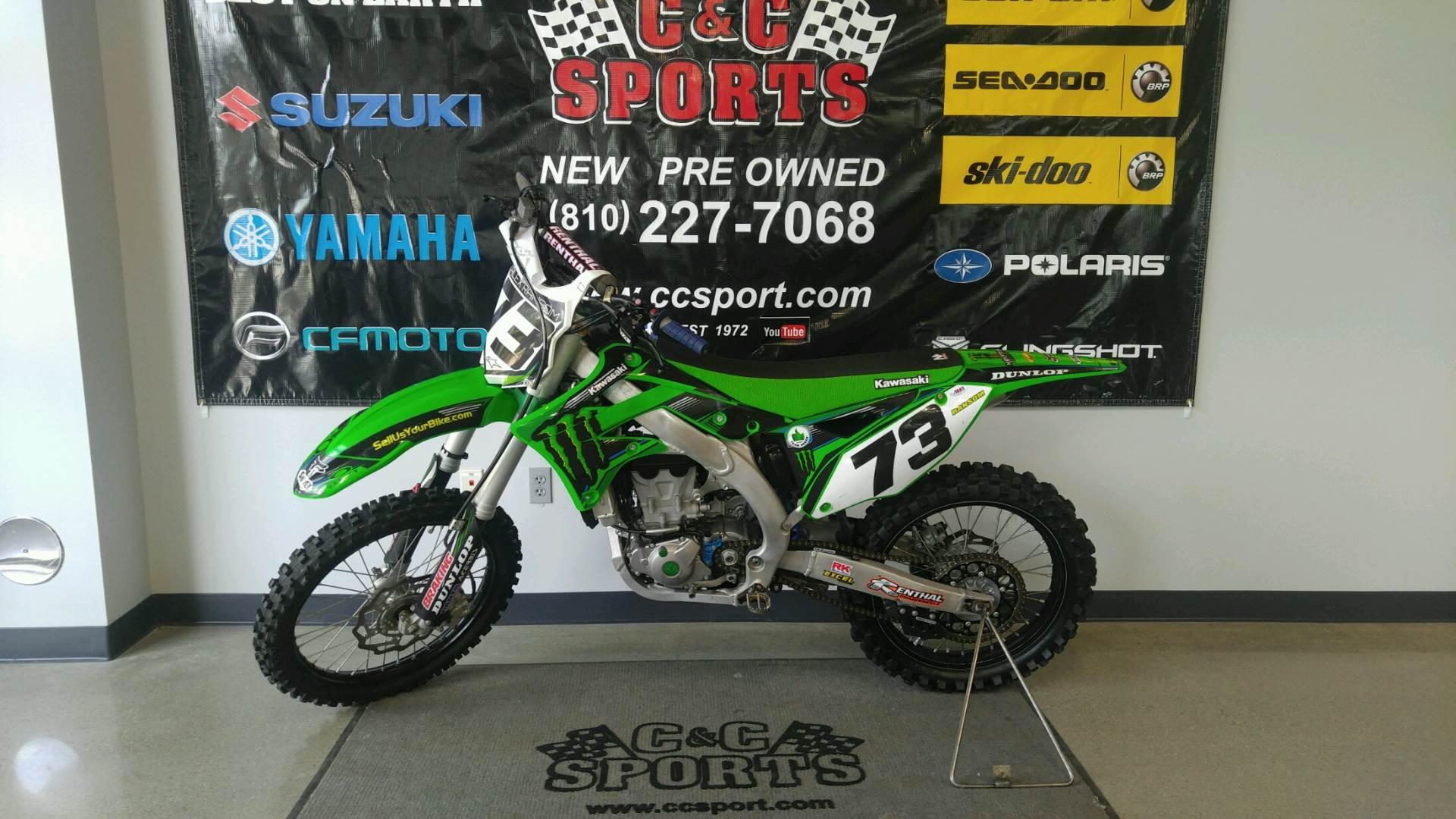 2015 Kawasaki KX™450F in Brighton, Michigan