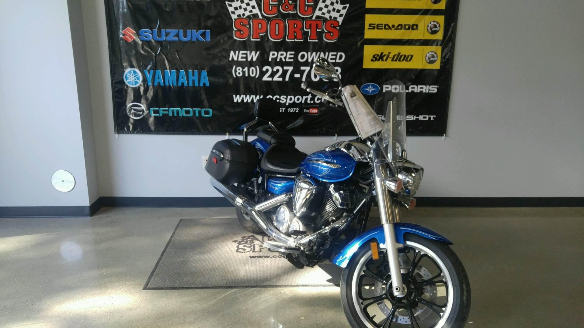 2012 Yamaha V Star 950 Tourer in Brighton, Michigan