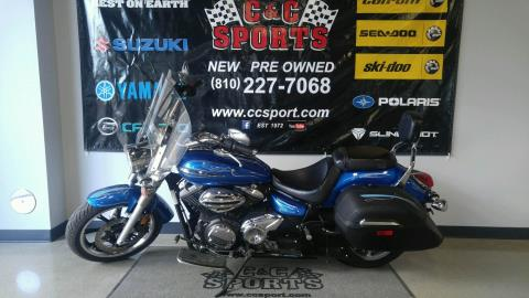 2012 Yamaha V Star 950 Tourer in Brighton, Michigan