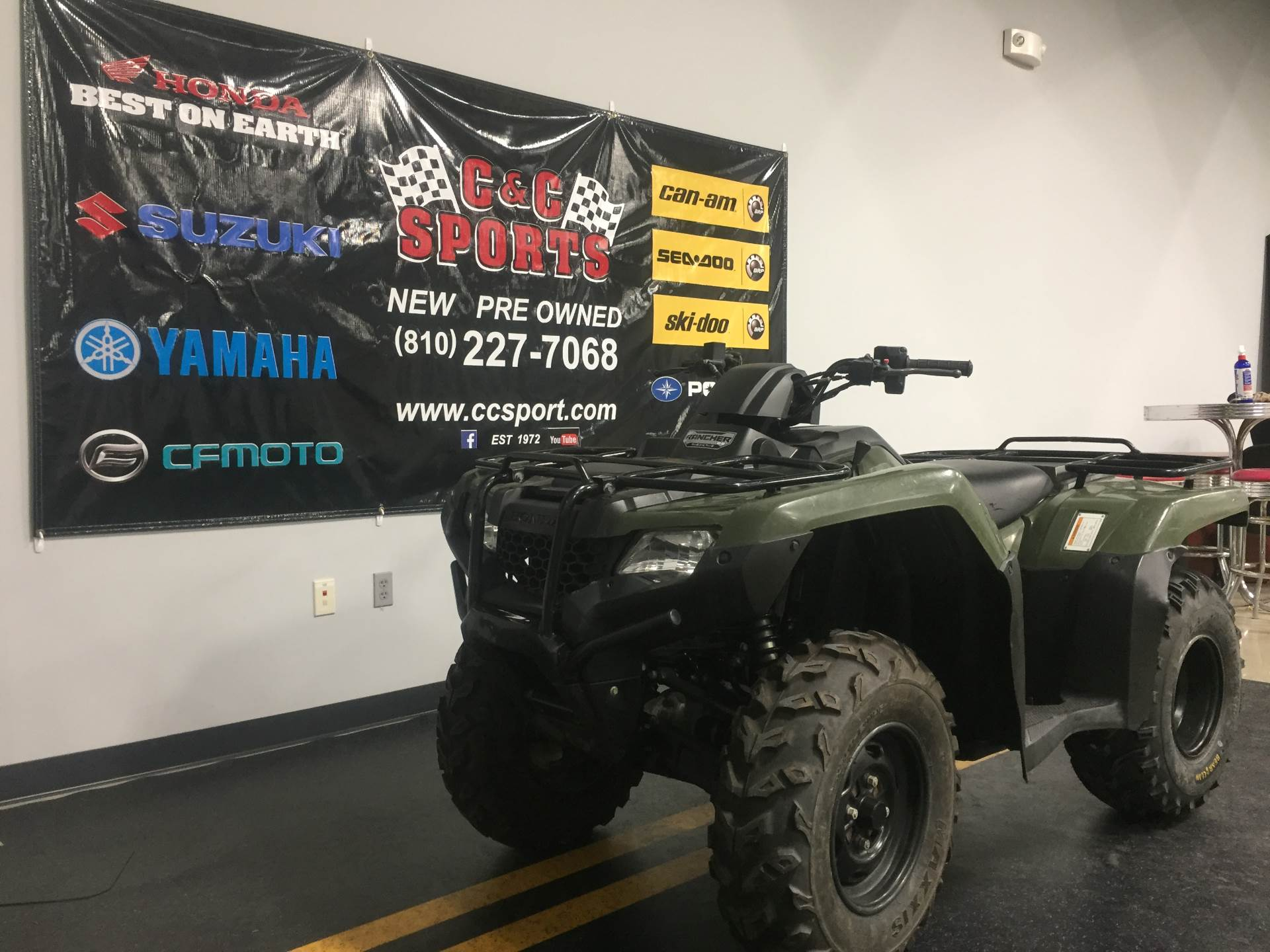 2014 Honda FourTrax® Rancher® 4x4 ES in Brighton, Michigan