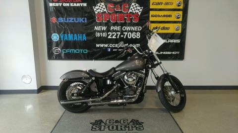 2014 Harley-Davidson Dyna® Street Bob® in Brighton, Michigan