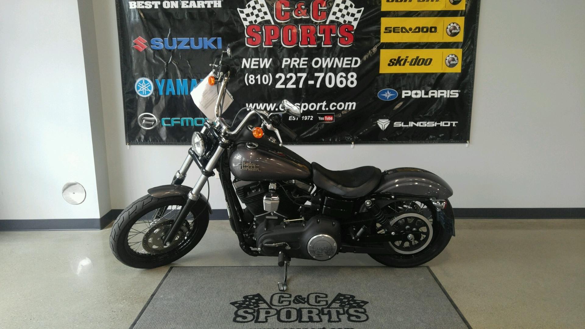 2014 Harley-Davidson Dyna® Street Bob® in Brighton, Michigan
