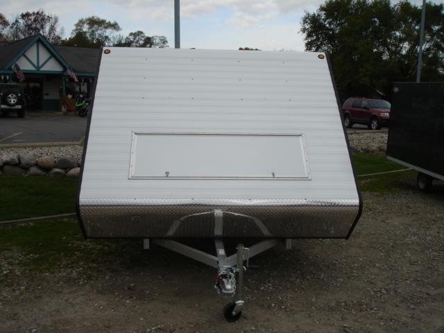 2012 Yacht Club Aluminum Full Enclosed Hybrid in Brighton, Michigan