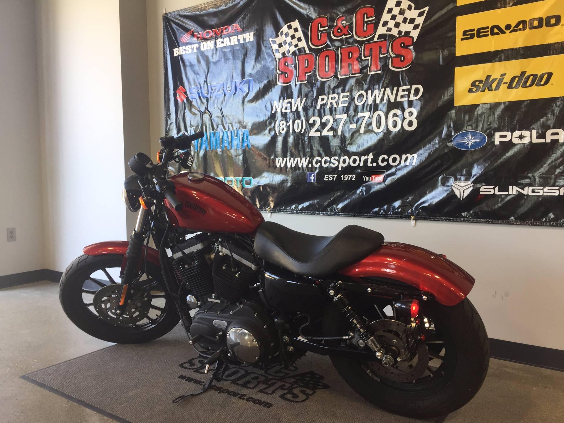 2012 Harley-Davidson Sportster® Iron 883™ in Brighton, Michigan
