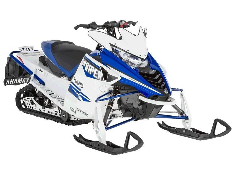 2016 Yamaha SRViper L-TX SE White / Yamaha Blue in Brighton, Michigan