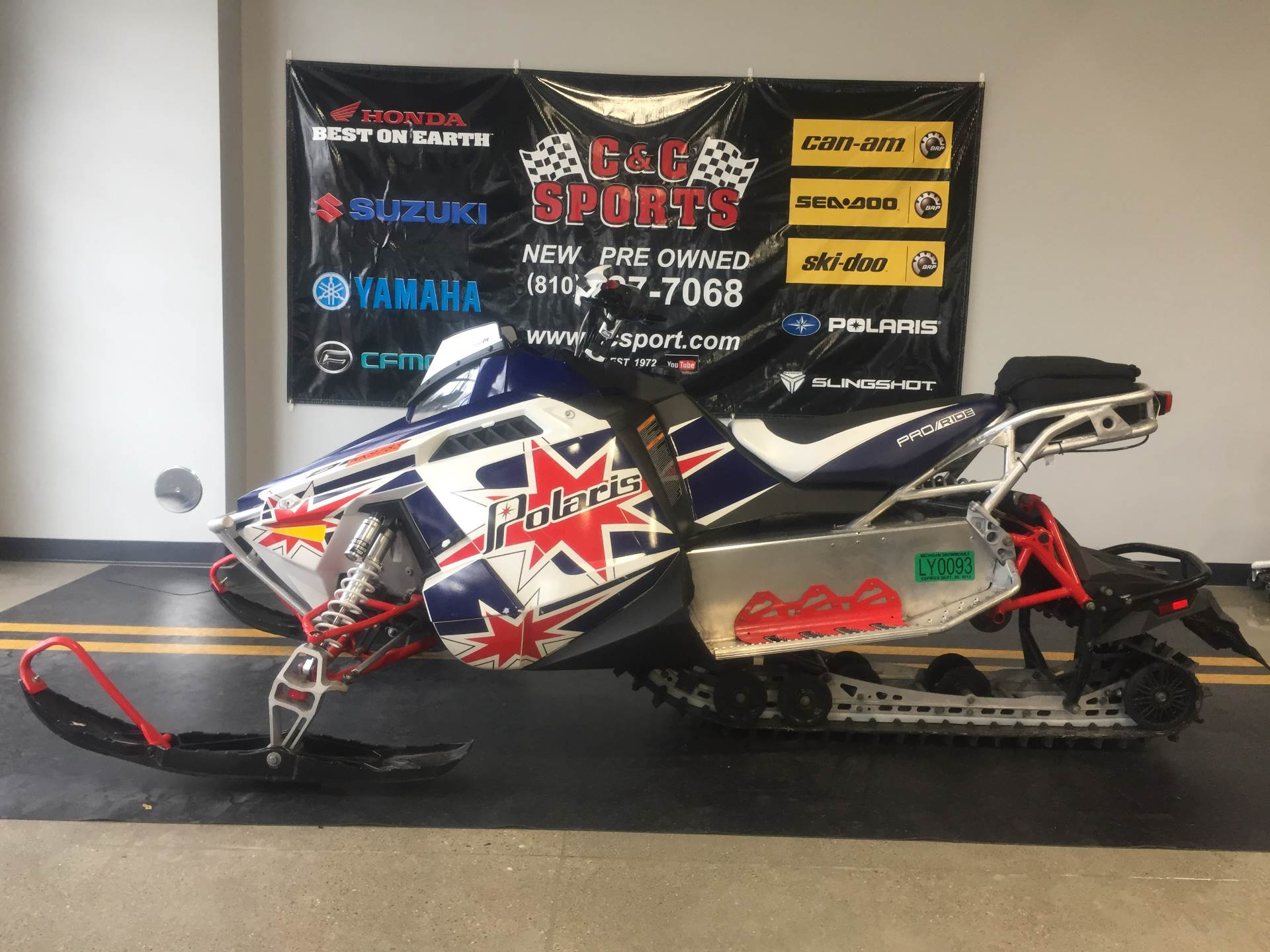 2013 Polaris 800 Switchback® PRO-R ES SC Retro LE in Brighton, Michigan