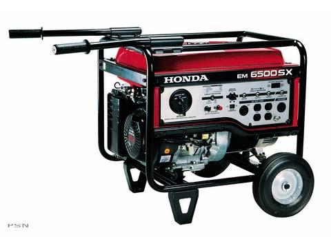 2010 Honda Power Equipment EM6500SXK1A in Brighton, Michigan