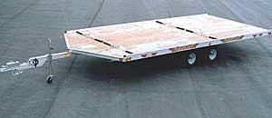2003 Sled Bed 8-1/2 x 20 Aluminum Tandem in Brighton, Michigan