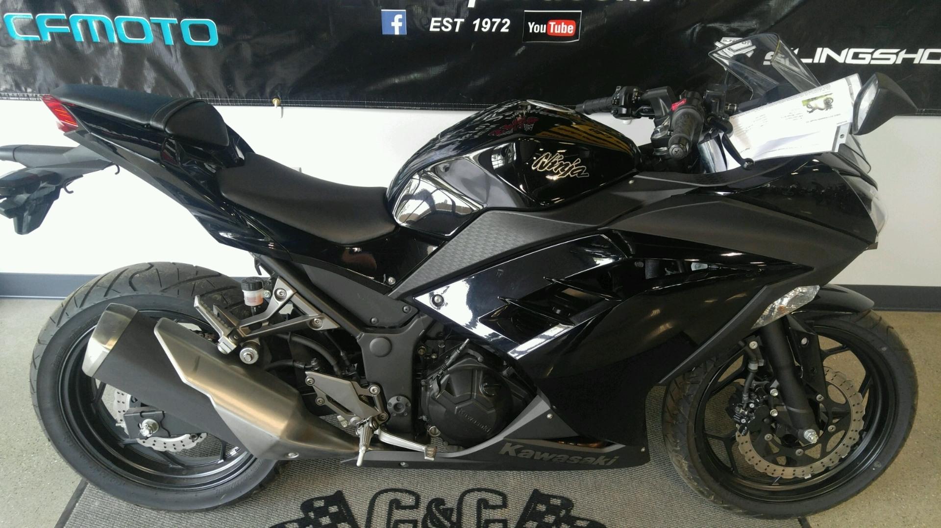 2013 Kawasaki Ninja® 300 in Brighton, Michigan