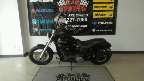 2010 Harley-Davidson Dyna® Street Bob® in Brighton, Michigan