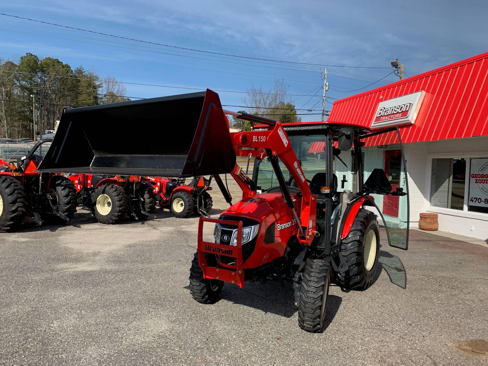 New 2019 Branson Tractors 3515CH Tractors in Cumming, GA