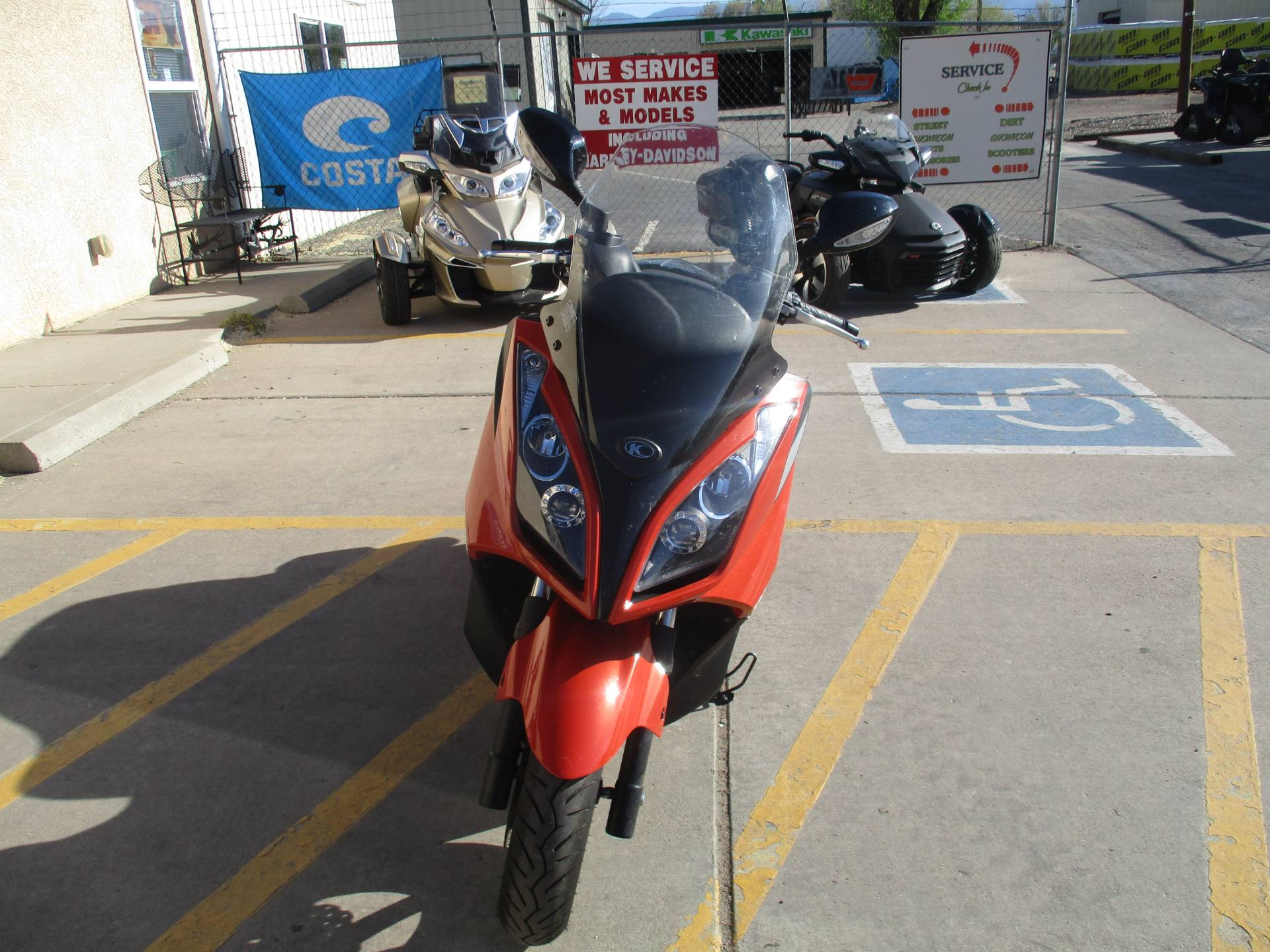 2012 Kymco Downtown 300i in Florence, Colorado