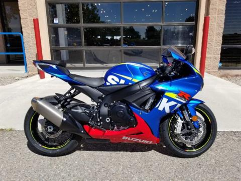 2016 Suzuki GSX-R600 in Albuquerque, New Mexico