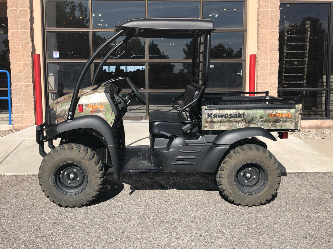 2020 Kawasaki Mule SX 4X4 XC Camo FI in Albuquerque, New Mexico - Photo 4