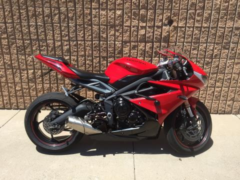 2015 Triumph Daytona 675 ABS in Albuquerque, New Mexico