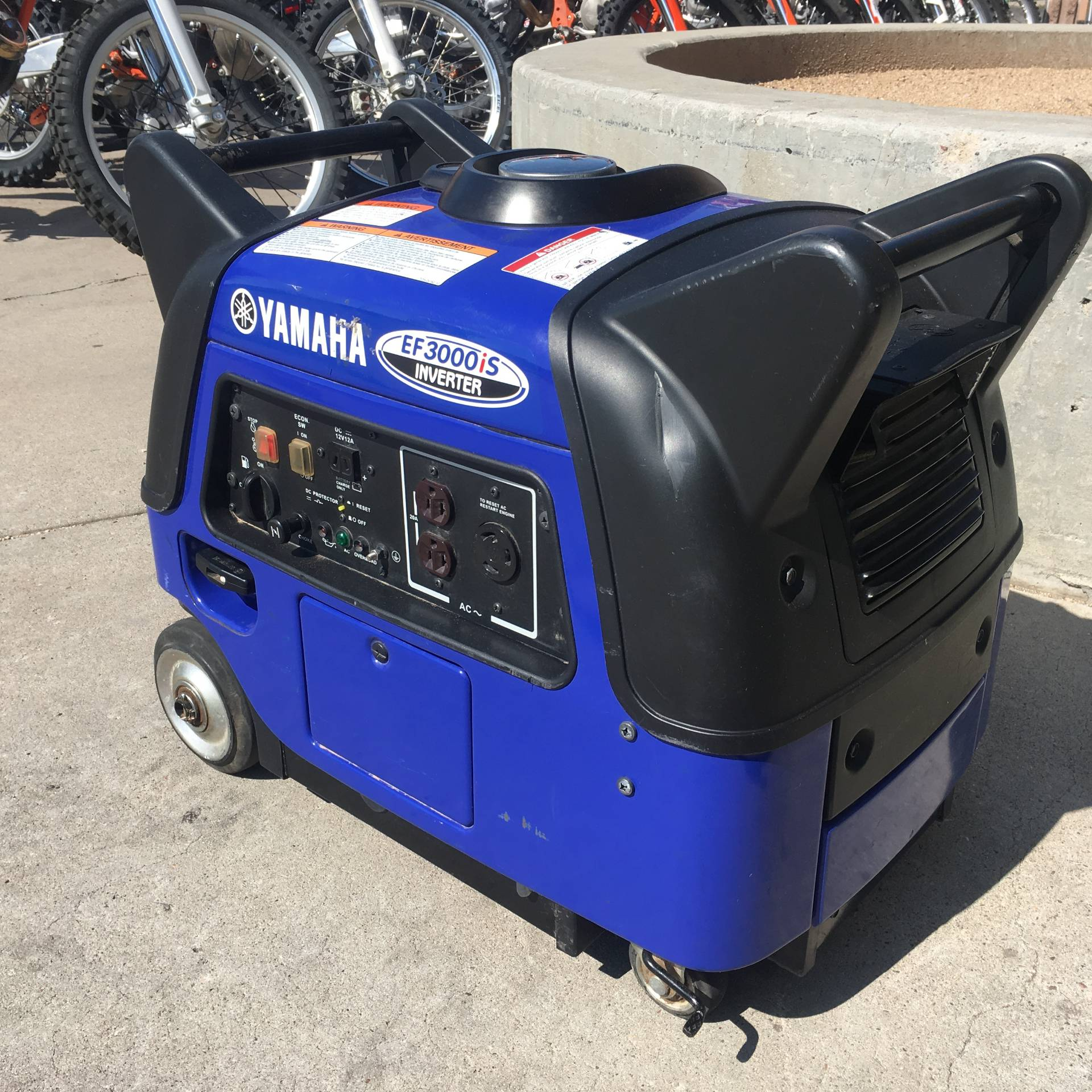 2014 Yamaha Inverter EF3000iS in Albuquerque, New Mexico