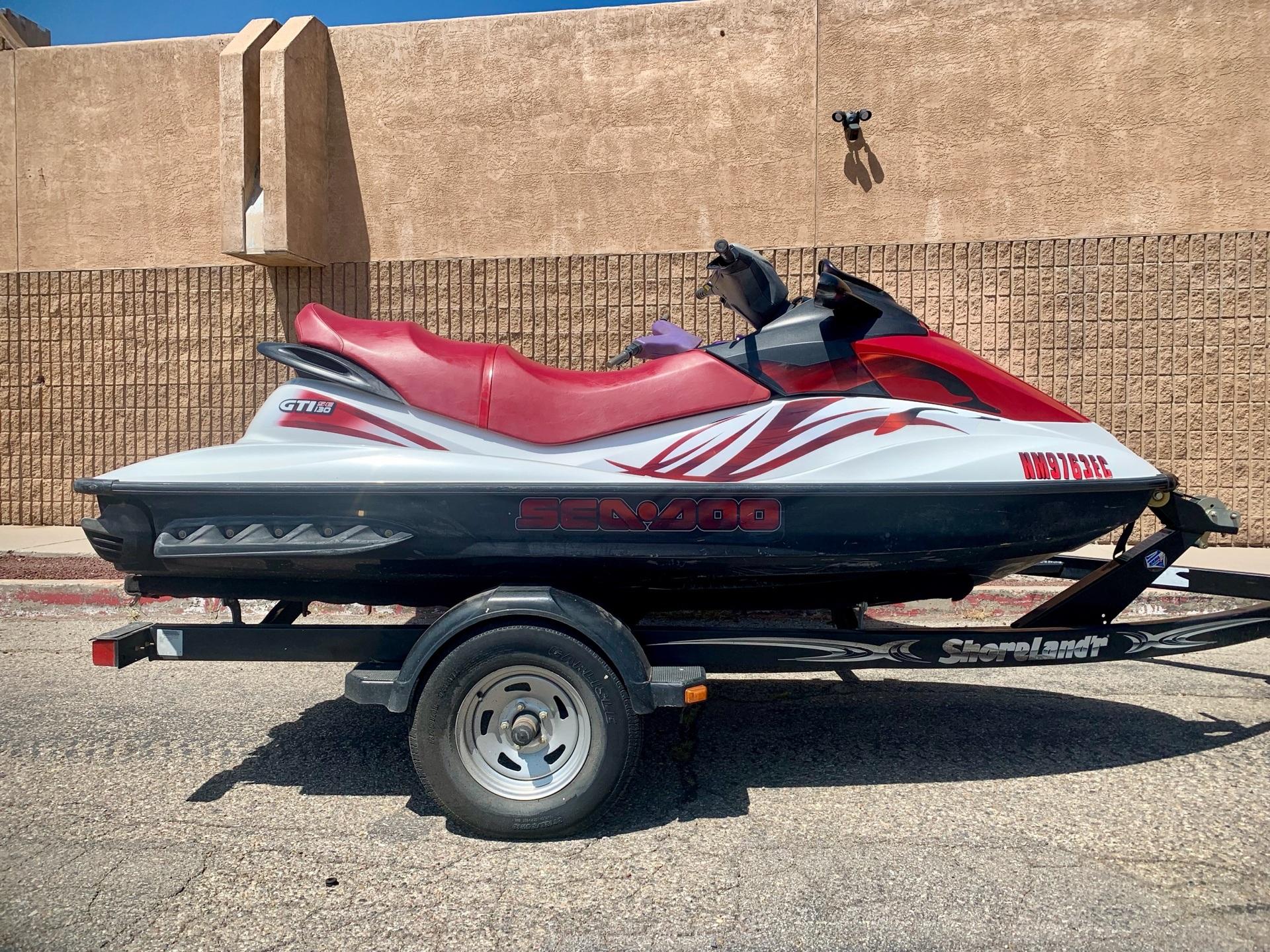 2008 Sea-Doo GTI SE 130 1